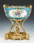 Large Bowl with Gilt Bronze Mounts