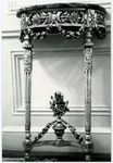 SMALL CONSOLE TABLE, ONE OF TWO
