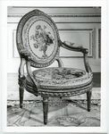 ARMCHAIR FROM A SUITE, ONE OF 12