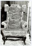 WING ARMCHAIR, ONE OF TWO