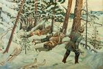 Partisans in the Snow