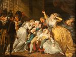 Louis XVI Saying Farewell to his Family