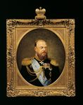 Portrait of Tsar Alexander III