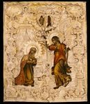 ANNUNCIATION WITH OKLAD