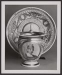 CUP WITH BUST OF A WARRIOR