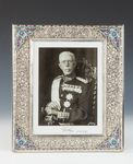 Frame with Photograph of King Gustav of Sweden